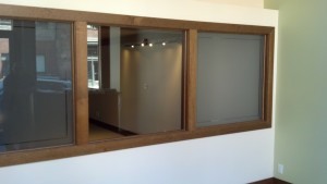 Seattle Callahan Law - Frosted Privacy Film