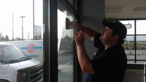 Storefront Glass Protection